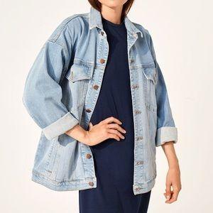NEW Eileen Fisher Oversized Classic Jean Jacket